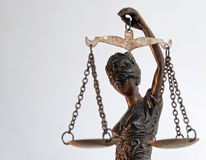 Senhora Justice - Temida - Themis fotografia de stock
