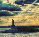Senhora Liberty Foto de Stock Royalty Free