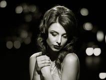 Senhora lindo olhando fixamente Rebecca 36 Imagem de Stock Royalty Free
