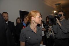 Senhora MINISTRO DE INGER STOJBERG_DANISH Foto de Stock Royalty Free