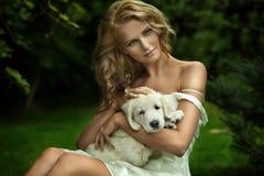 Senhora nova bonito Fotos de Stock Royalty Free