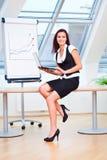 Senhora nova do negócio Fotos de Stock