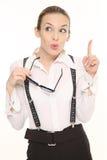 Senhora nova do negócio Foto de Stock
