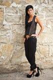 Senhora nova e atrativa Fotos de Stock Royalty Free