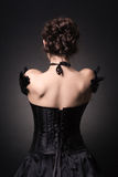 senhora nova no vestido de noite elegante Foto de Stock Royalty Free