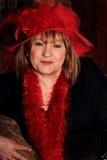 Senhora Prim de Red Hat Fotografia de Stock