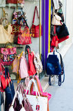 Senhora Purse Shop Imagens de Stock Royalty Free