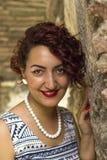 Senhora Red-Haired Imagens de Stock