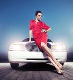 Senhora 'sexy' Imagem de Stock