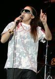 Senhora Sovereign Performs no concerto imagem de stock