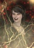 senhora Vamp da rendição 3D Fotos de Stock Royalty Free