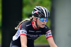 Senhoras do ciclismo Foto de Stock Royalty Free