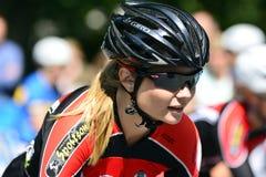 Senhoras do ciclismo Imagem de Stock