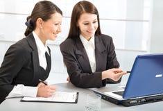 Senhoras do negócio Imagem de Stock