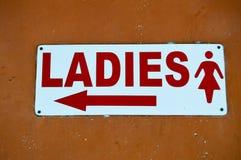 Senhoras do quadro indicador com Imagem de Stock Royalty Free