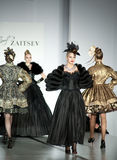 Senhoras em vestidos de noite Imagem de Stock Royalty Free