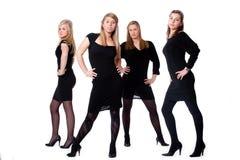 Senhoras no pose livre Foto de Stock Royalty Free