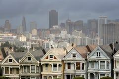 Senhoras pintadas de San Francisco imagem de stock royalty free