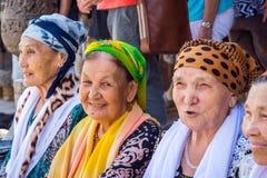 Senhoras superiores do uzbek Foto de Stock