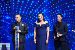 Senhorita All Nations Thailand 2017, círculo final Foto de Stock