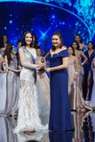 Senhorita All Nations Thailand 2017, círculo final Imagens de Stock