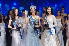 Senhorita All Nations Thailand 2017, círculo final Foto de Stock Royalty Free