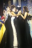 Senhorita America Pageant dos concorrentes em 1994, Atlantic City, New-jersey fotografia de stock