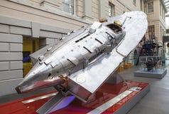 Senhorita Britain III na exposição no museu marítimo nacional em L Imagem de Stock Royalty Free