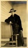 Senhorita do vintage Foto de Stock