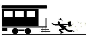 Senhorita o trem Fotografia de Stock