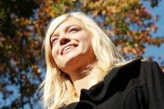 Senhorita Outono Imagens de Stock Royalty Free