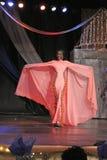 Senhorita St. Competição do vestido de noite de Croix Foto de Stock Royalty Free