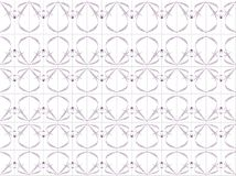 Seni Desain. Floral design blend of lines and dots of grayish white background, design / ornament of leaves / flowers / plants with gradation of black, purple Stock Photography