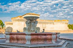 Senigallia的纪念碑 免版税库存图片