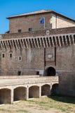 Senigallia (ITALIË) - het Middeleeuwse Kasteel van Della Rovere royalty-vrije stock afbeeldingen