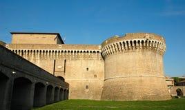 Senigallia (ITALY) - castelo medieval de Della Rovere Imagem de Stock