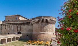 Senigallia (ITALY) - Della Rovere Medieval Castle Royalty Free Stock Photography