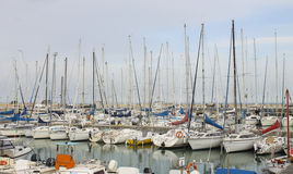Senigallia port Stock Photography