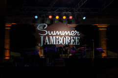 Senigallia summer jamboree. Senigallia marche summer jamboree 50s Royalty Free Stock Image