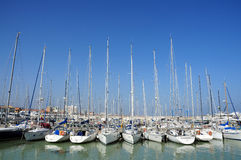 Senigallia, turistic harbour Royalty Free Stock Photo