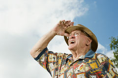 Free Senior Adult Man Gazing Into The Distance Stock Photos - 62808993