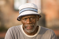 Senior African American Man Stock Images