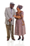 Senior african couple Stock Photos
