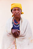 Senior African woman stock photos