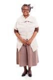 Senior african woman Stock Image