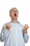 Senior angry man Royalty Free Stock Photo