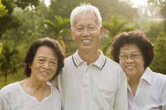 Senior Asian Stock Photography