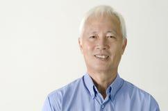 Senior asian business man Royalty Free Stock Image