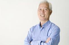 Senior asian businessman Royalty Free Stock Photo