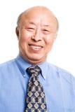 Senior asian businessman Stock Photo